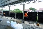 งานก่อฉาบผนังก่อสร้างโกดัง (1)