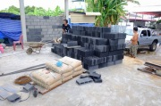 งานก่อฉาบผนังก่อสร้างโกดัง (2)