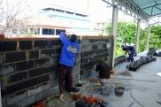 งานก่อฉาบผนังก่อสร้างโกดัง (3)
