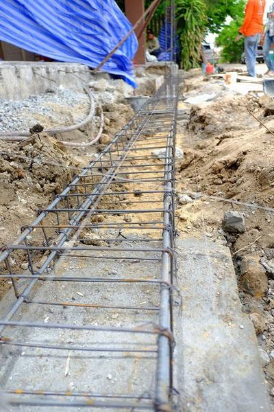 งานซ่อมรั้วทรุดกำแพงเอียง (4)