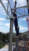 งานติดตั้งโครงหลังคา (6)
