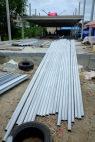 งานถักโครงหลังคาโกดัง (1)