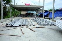 งานถักโครงหลังคาโกดัง (5)