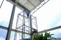 งานติดตั้งบานเกล็ดเมทัลชีทระบายอากาศ ก่อสร้างโกดัง (5)