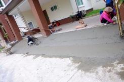 เทพื้นงานซ่อมรั้วทรุดกำแพงเอียง (1)
