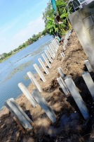 ก่อสร้างเขื่อนกำแพงกันดิน (2)