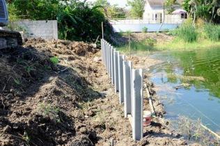 ก่อสร้างเขื่อนกำแพงกันดิน (6)
