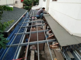 งานมุงหลังคาและปีกนก (1)