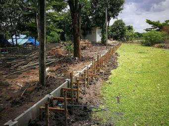 เทคานก่อสร้างเขื่อนกำแพงกันดิน (1)