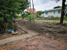 เทคานก่อสร้างเขื่อนกำแพงกันดิน (5)