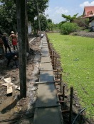 เทคานก่อสร้างเขื่อนกำแพงกันดิน (7)