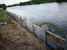 เสียบแผ่นเพื่อก่อสร้างกำแพงกันดิน (3)
