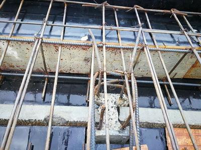ก่อสร้างเขื่อนกำแพงกันดิน (1)